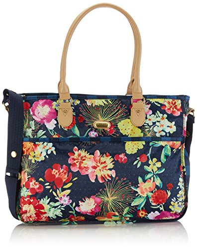 Oilily Tropical Baby Bag (Blue - Blau (Navy 536))