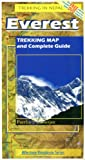 img - for Everest: Trekking Map and Complete Guide (Milestone Himalayan Series) book / textbook / text book