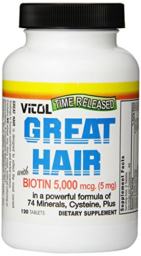 Vitol Great Hair, 120 Tabs