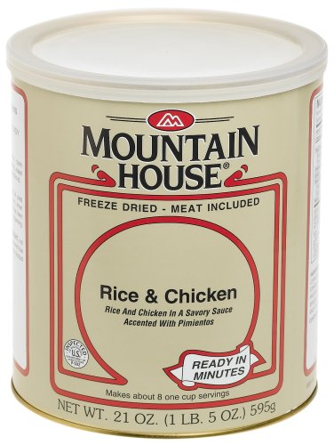 Mountain House #10 Can Rice & Chicken (8 -1 cup servings)