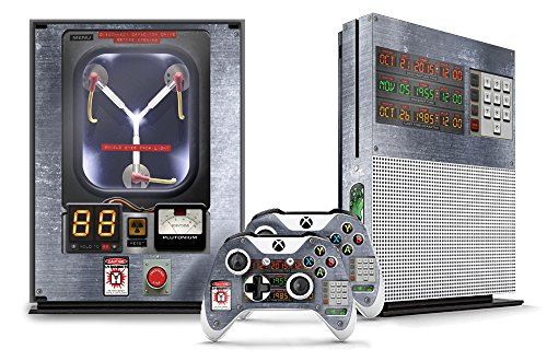 Designer-Skin-Sticker-for-the-XBOX-ONE-S-Console-With-Two-Wireless-Controller-Decals-Flux