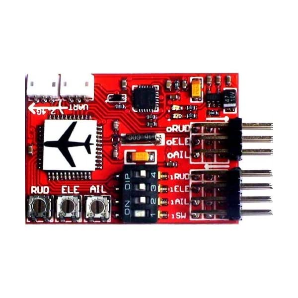 QwinOut-High-Precision-JCX-M6-M6-Flight-Controller-Digital-Gyro-for-RC-Fixed-wing-Airplane-V-tail-Model-Plane-FPV