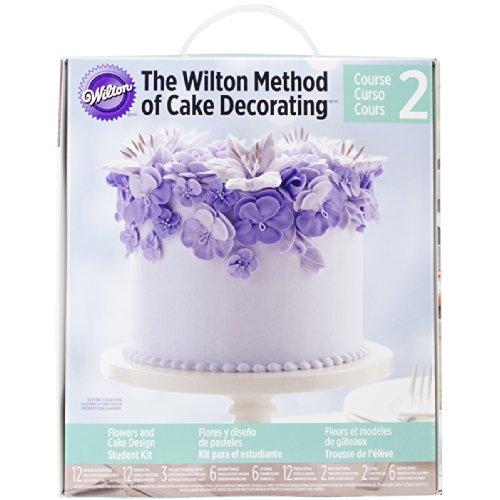 Wilton Cake Decorating Kit Student Kit Course 1 : Wilton Student Decorating Kit Book Course 2 Find Best ...