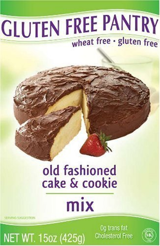 Gluten-Free Pantry Old Fashioned Cake and Cookie Mix, 15-Ounce Boxes (Pack of 6)