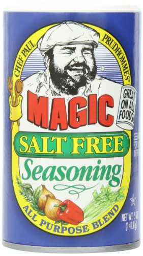 Magic Seasoning Blends Magic Salt Free Seasoning, 5 Ounce Container