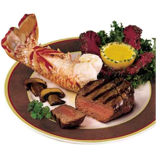 Surf & Turf (4-pc) Prince Premium Filet Mignon & Lobster