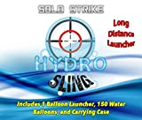 SOLO Water Balloon Launcher SlingShot 200 Yards, The SOLO STRIKE by HydroSling includes 150 FREE balloons and Carrying Case
