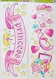 Main Street Wall Creations Jumbo Stickers - Princess