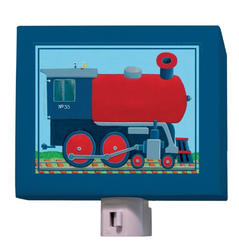 Oopsy Daisy Fine Art for Kids NL190401MG Train Engine Night Light