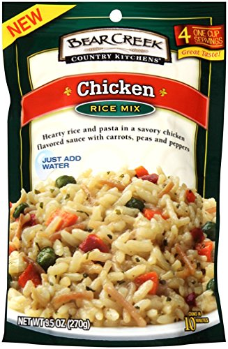Bear Creek Country Kitchens Rice Mix, Chicken, 9.5 Ounce (Pack of 6) (Rice Soup Seasoning compare prices)