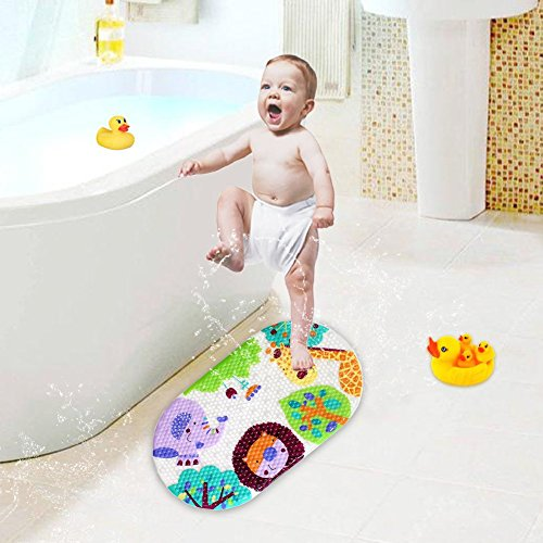 Bath Mat Baby Non-slip Bathtub Mat . PVC Bathroom Rugs for Shower
