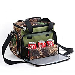 LussoLiv Camouflage Color Portable Refrigeration Insulation Lunch Bag Thermal Food Picnic Bags Travel Bags