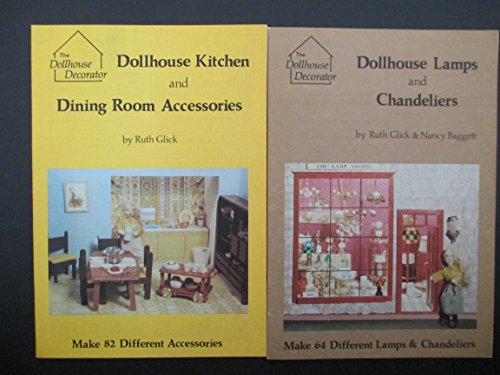 Dollhouse Kitchen and Dining Room Accessories