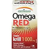 Jamieson Super Krill Oil, Omega Red, 1000mg, 30 Count