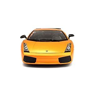 BJLWTQ Car Model Collection 1:18 Gallardo Alloy Sports Car Model Simulation Alloy, Die Cast Miniature (Color : Orange) (Color: Orange)