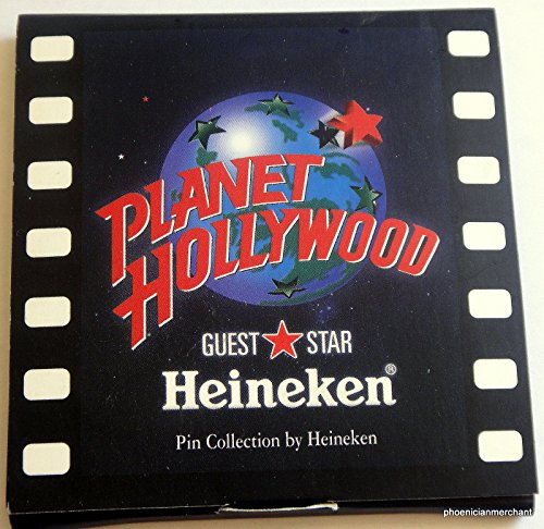 Staff Planet Hollywood Guest Star Pin Collection By Heineken (Heineken Collection compare prices)