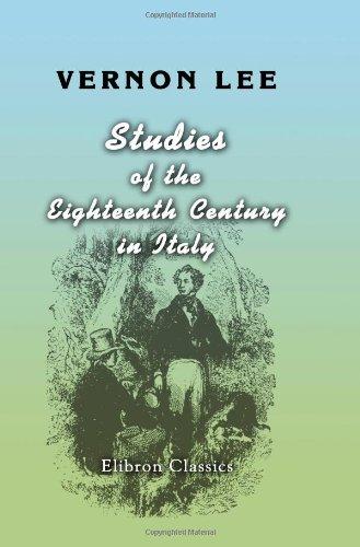 Studies of the Eighteenth Century in Italy