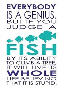 Albert Einstein Quotes If You Judge a Fish