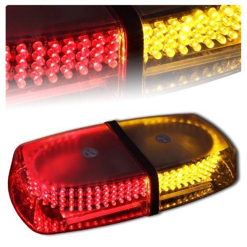 Red Amber Vehicle Car Truck Emergency Hazard Warning 240 Led Mini Bar Strobe Flash Light
