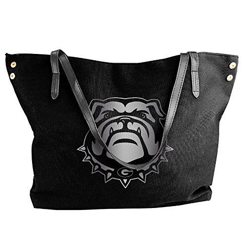 georgia-bulldogs-platinum-logo-women-shoulder-bags