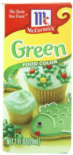McCormick Food Color, Green, 1-Ounce Bottle