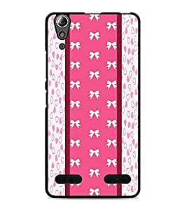 PrintDhaba Pattern D-5758 Back Case Cover for LENOVO A6000 (Multi-Coloured)