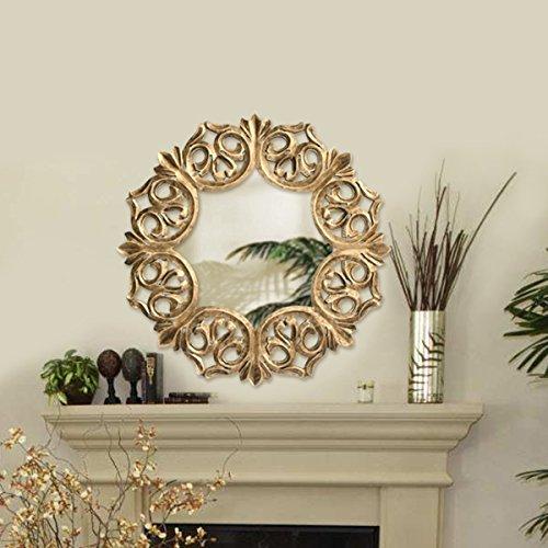 Fine carved mirror