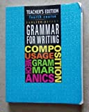 img - for Sadlier-Oxford Grammar for Writing, 4th Course, Teacher's Edition book / textbook / text book