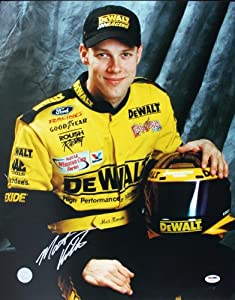 MATT KENSETH NASCAR SIGNED AUTHENTIC 16X20 PHOTO AUTOGRAPHED CERTIFICATE OF... by Press Pass Collectibles