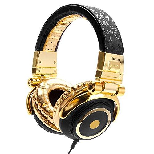 Idance 623100 Disco Headphone For Ipad - Black/Gold