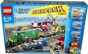 Lego City 66325 - Cargo Train Super Set (7898, 7997, 7895, 7896)