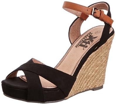 Xti Tentations  29244, Chaussures à talons femme - Noir - noir, 40 (7 UK)
