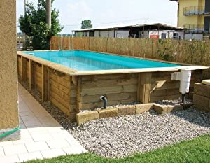 Silver springs pool aus holz komplett garten for Garten pool komplett