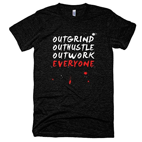 Startup-Drugz-Outwork-Everyone-Male-T-Shirts-Small-Black