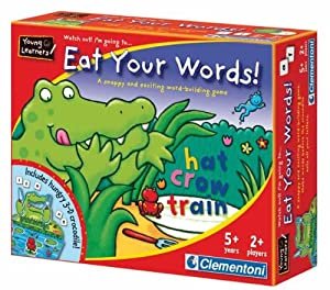 Eat Your Words! Spelling Game by Clementoni