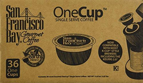 San Francisco Bay OneCup, Espresso Roast, 36 Single Serve Coffees (San Francisco Bay Espresso Roast compare prices)