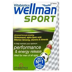 Vitabiotics Wellman Sport Tablets 30 Tablets