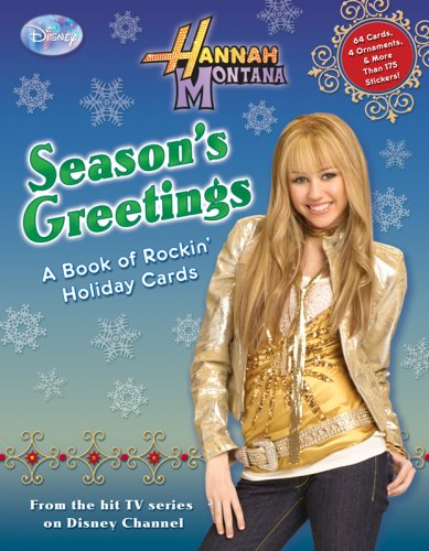 Hannah Montana: Season's Greetings: A Book of Rockin' Holiday Cards