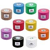 10x NASARA Kinesiologie Tape kinesiologische Tapes * 10 Farben im