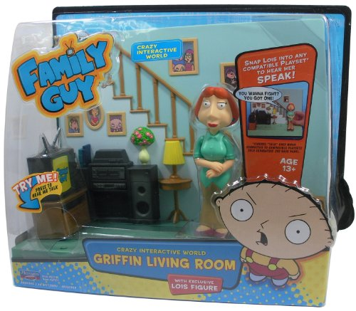 Family Guy - Griffin Living Room Playset (Vagabond Battery compare prices)