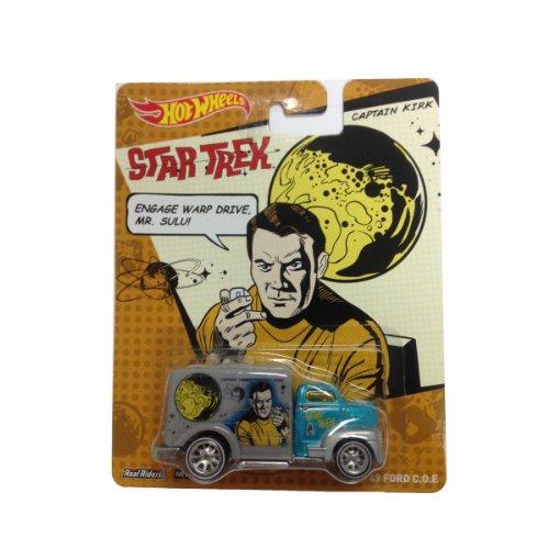 Hot Wheels 2013 Star Trek Pop Culture Captain Kirk '49 Ford C.O.E. Die-Cast Car