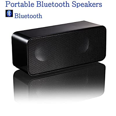 Wireless Bluetooth Speaker,ACLUXS Magicbox Ultra-Portable Bluetooth Speaker for iPhone, iPad Mini, iPad 4/3/2, iTouch, Nexus, Samsung and other Smart Phones and Mp3 Players,Black