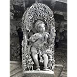 "Dolls Of India ""Apsara - Temple Sculpture From Belur, Karnataka, India"" Photographic Print - Unframed (40.64 X..."