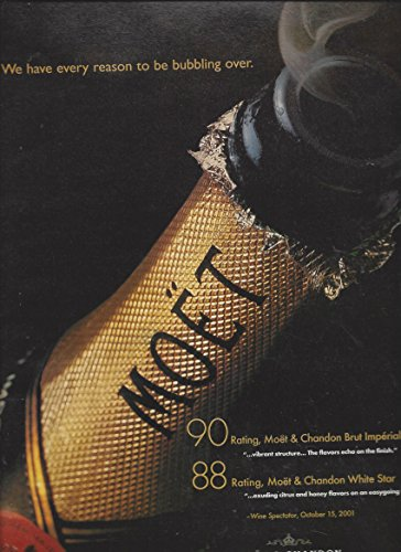 print-ad-for-2001-moet-chandon-champagne-bubbling-over-print-ad