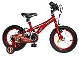 Cars - Bicicleta con diseño de la película Cars (ruedas diámetro 35,5 cm)