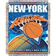 "New York Knicks NBA Triple Woven Jacquard Throw (019 Series) (48x60"")"""