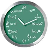Mathematical Expressions Blackboard Wall Clock