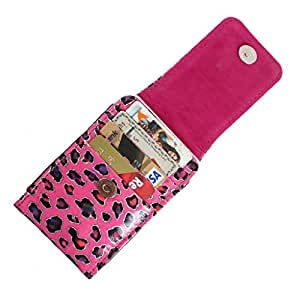DooDa PU Leather Pouch Case Cover With Magnetic Closure For LG L45 Dual (X132)