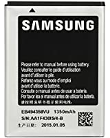Samsung EB494358VU Batterie avec étui pour Samsung GT-B7510 Galaxy Pro/GT-S5660 Galaxy Gio/GT-S5670 Galaxy Fit/GT-S5830 Galaxy Ace 1350 mAh