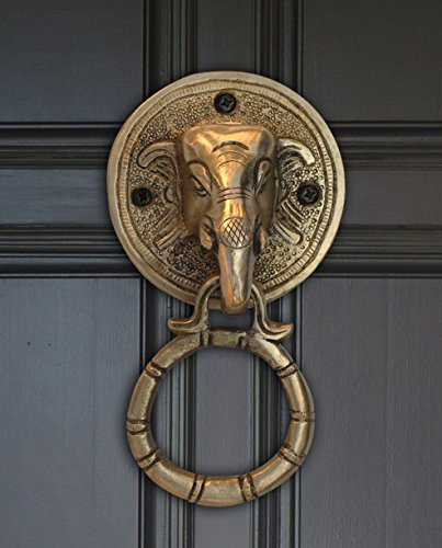 Click any picture below to enlarge it - Brass elephant door knocker ...